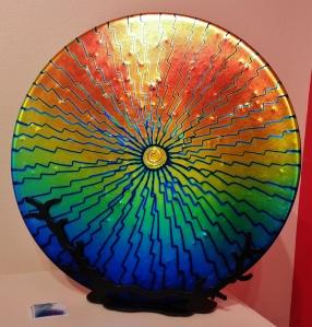 Fused glass by Debbie Earley
