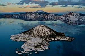 Crater Lake Sunset - Daniel Loch