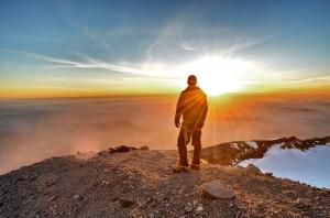 Daniel Loch - Rainier Sunset